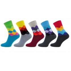 Ponožky Novia 1001 barevné...
