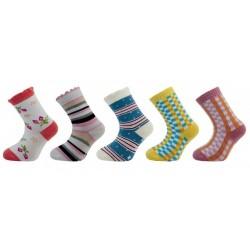 Ponožky Novia dívčí s ABS